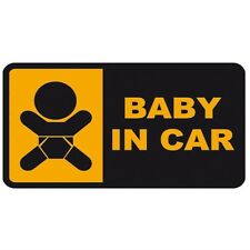 Baby in car Car Window Windscreen Body Panel Bumper Decal Vinyl Sticker
