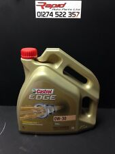 Castrol Edge Fully Synthetic 0w-30 Engine Oil BMW AUDI LONGLIFE C3 (4 Litre)