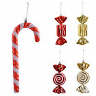 Glitter Candy Sweet Gift Hanging Christmas Tree Decorations Ornaments Baubles