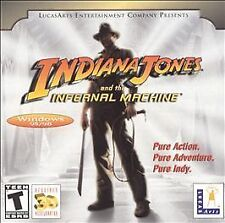 Indiana Jones and the Infernal Machine Jewel Case (PC, 2001)