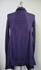 NEW LULULEMON purple Live Healthy Wrap Cardigan Sweater size 6 NWOT **RARE**