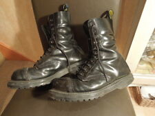 Mens Skinheads steel toe cap well worn used Black leather size uk 7 by NPS