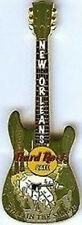Hard Rock Cafe NEW ORLEANS 2003 Swap in the Swamp GUITAR PIN HRC Catalog #20092
