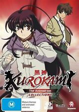Kurokami Collection 1 (Ep 1-12) DVD NEW