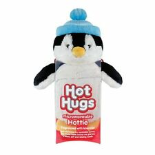 Aroma Home Hot Hugs Hottie PENGUIN Soft Toy With Lavender Microwavable Tummy