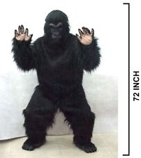 FRIENDLY GORILLA COSTUME party suit halloween monkey dressup adult complete new