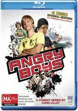 Angry Boys NEW Cult Series Blu-Ray 4-Disc Set Chris Lilley Australia