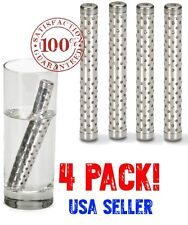 4 Pack ALKALINE Water Stick PH Alkalizer Ionizer Hydrogen Minerals Wand Filter