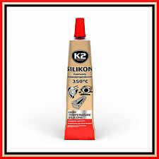 42g High Temperature Silicone +350°C Heat Resistant Glue Adhesive Sealant Red