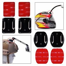 2 X Adhesive Pads Flat Helmet Car Bike Mounts 3M GoPro HD Camera Hero 3 3+ 4 5
