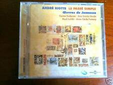 André Riotte - Le passé simple  (CD neuf)