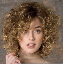 New Fashion sexy Women's ladies short Mix Natural Hair full wigs + wig cap WU