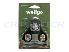 New Wellgo RC-7C Pedal Cleats Fixed 0 Deg Look Keo Compatible Black