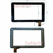 "Glass Touch screen Digitizer 7,0"" LEXIBOOK Power Tablet MFC162IT NCR18219 Black"
