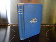 Idylls of the king, alfred tennyson. 1922 vintage book.
