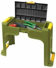 Yardworks Garden Kneeler Seat Bench! Tool Storage Knee Cushion Pad Lawn Yard