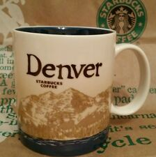 Starbucks Coffee City Mug/Tasse/Becher DENVER/CO, Global Icon, NEU & unbenutzt!!