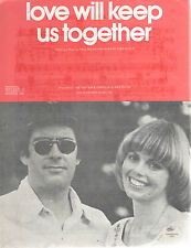 CAPTAIN & TENNILLE - LOVE WILL KEEP US TOGETHER - OZ 4 PAGE SHEET MUSIC