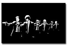 Pulp Fiction Star Wars Funny Movie Art Silk Poster 24x36 inch
