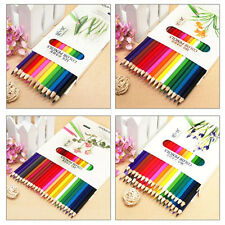 New 12x Colouring Art Pencil  Student Art Painting Sketch Colored Pencils