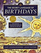 THE SECRET LANGUAGE OF BIRTHDAYS - NEW PAPERBACK BOOK
