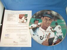 Ted Williams Signed Plate Boston Red Sox Sports Impressions JSA COA #X07620 MT