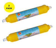 2 Pack, Mineral Ball Alkaline Filter (6th Stage) for RO Water System