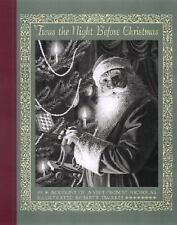 'TWAS THE NIGHT BEFORE CHRISTMAS Illustrated by Matt Tavares (2002, Hardcover)