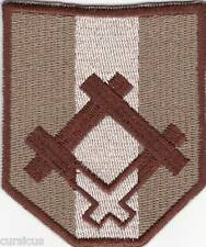 LATVIA. Latvian Army SPECIAL FORCES desert subdued PATCH
