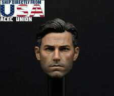 1/6 Ben Affleck Batman Head Sculpt 2.0 For Bruce Wayne Hot Toys Phicen Body USA