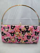 Custom Disney Comic Book Clutch Bag - Minnie Mouse  - Retro Kawaii Womens Bag