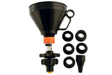 WINTER SALE! UNIVERSAL COOLANT FILLING TOOL KIT WITH ADAPTORS / SHUT OFF VALVE