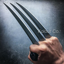 """12"""" Hunting Wolverine Claw Blade Fantasy Knife Combat XMEN Cosplay w/ Stand"""