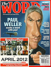 The WORD 110 April 2012 PAUL WELLER Dion Tom Waits Jethro Tull Lana Del Rey + CD