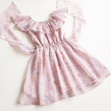 LIZ LISA Ballerina Rose Swan Ribbon Princess OP Dress Sweet Lolita Kawaii Japan