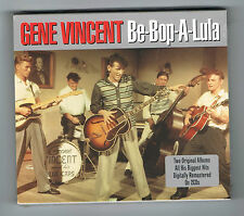 GENE VINCENT - BE-BOP-A-LULA - 2 CD SET - 36 TITRES - 2008 - NEUF NEW NEU