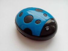 COCCINELLA ELEGANTE LETTORE MP3 IN BLU CON ACCESSORI-NATALE STOCK Filler