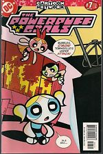 "POWERPUFF GIRLS THE COMICS #7 DC/CN 2000 TV TROUBLES ""REMOTE CONTROLLED!"" NM-"