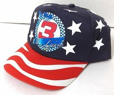 #3 IN THE FAST LANE HAT Red/White/Blue American Flag Team USA Stars And Stripes