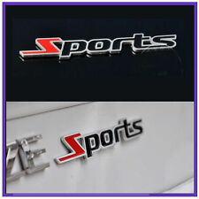 Metal Sports 3D Chrome Logo Sticker for Car Honda City Amaze Jazz Brio Accord