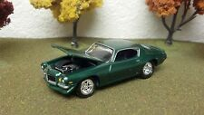 CAMARO, 1972, LIMITED EDITION, 1/64 SCALE, DIE-CAST METAL BODY & CHASSIS