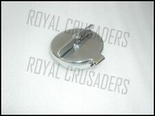 "NEW TRIUMPH 2 1/2"" HINGED CHROME FILLER CAP (code809)"