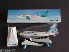 Luxair Boeing 737-700 Push Fit Model with Winglets LX-LGO - New & Boxed