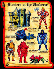 80's Classic Cartoon He-Man Masters of the Universe Toy Art custom tee Any Size