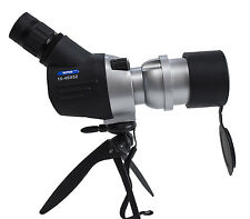 15-45x52 compact spotting scope. 15x to 45x magnification.