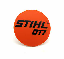 Modelo de la placa para Stihl 017 New Genuine Part. 1130 967 1500