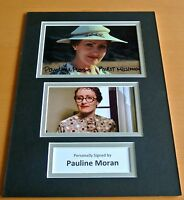 Pauline Moran SIGNED autograph A4 Photo Mount Display Poirot memorabilia TV COA