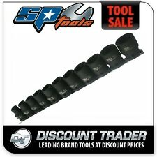 "SP Tools Socket Rail Impact 1/2"" Drive 6 Point 11 Piece Imperial SAE - SP20351"