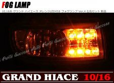 Toyota Land Cruiser 100 Crystal Orange LED Fog Driving Lights Lamps JDM F/S