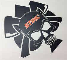 STIHL skull chainsaw vinyl sticker decal magnum MS 440 MS 460 066 MS 660 200mm